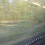 Bahnfahrt nach Hamburg